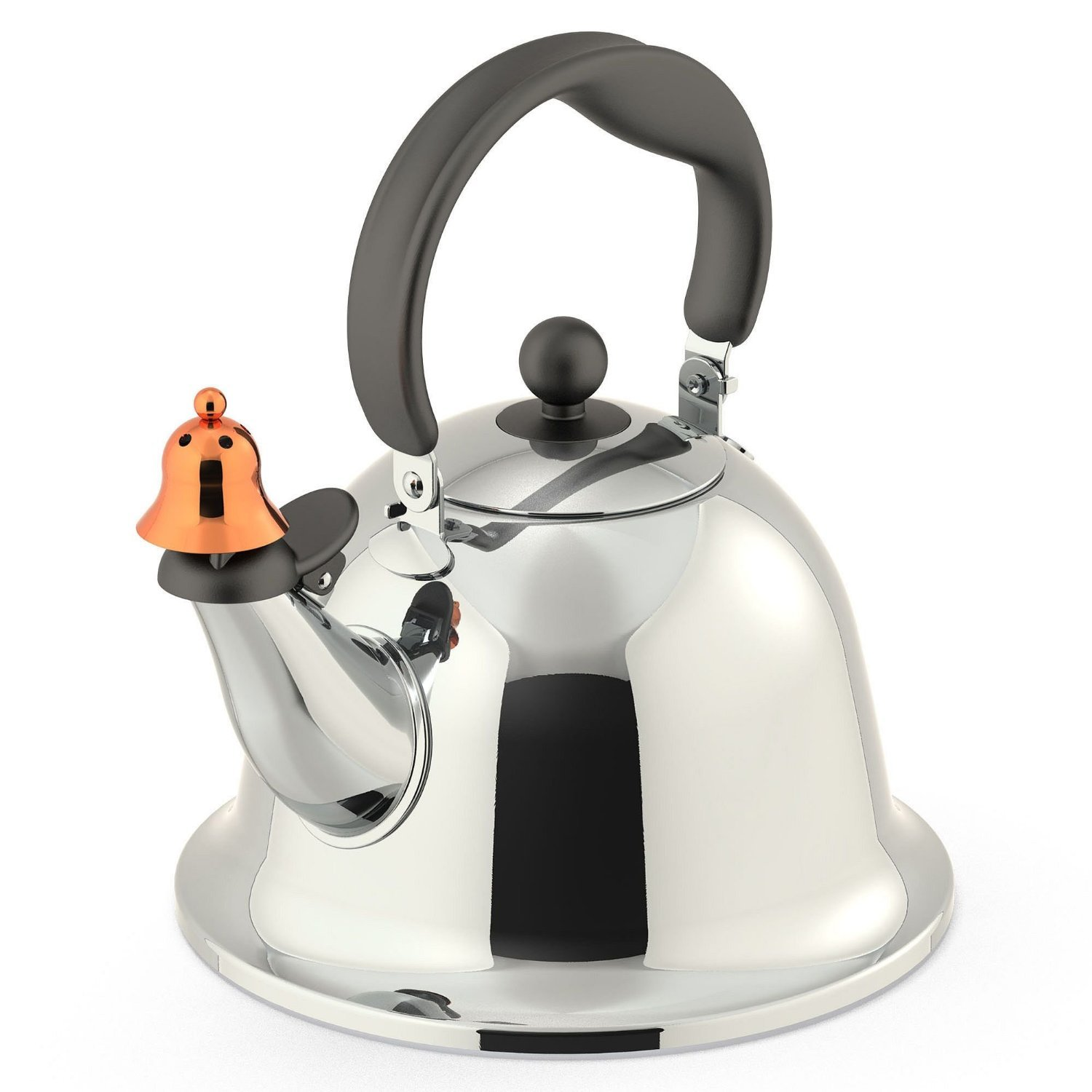 amazoncom michael graves design bells and whistles stainless  - amazoncom michael graves design bells and whistles stainless steel teakettle teakettles kitchen  dining