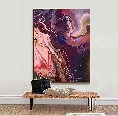 Peinture huile abstrait