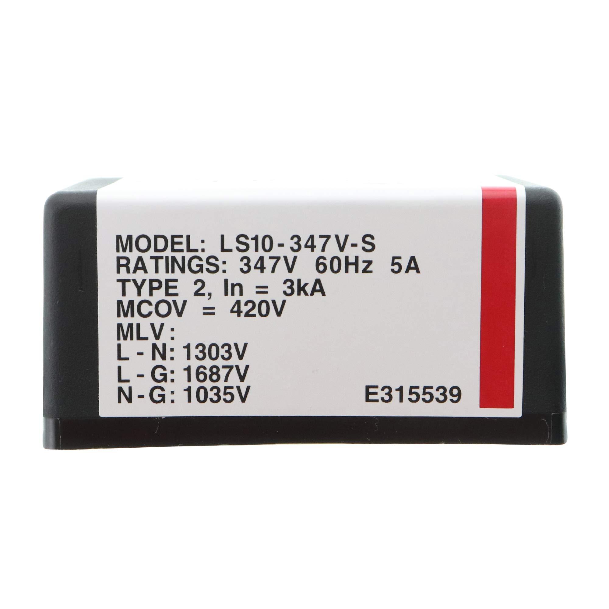 Cooper Lighting LS10-347V-S LED Lighting Surge Protector SPD, TVSS, 120-347V