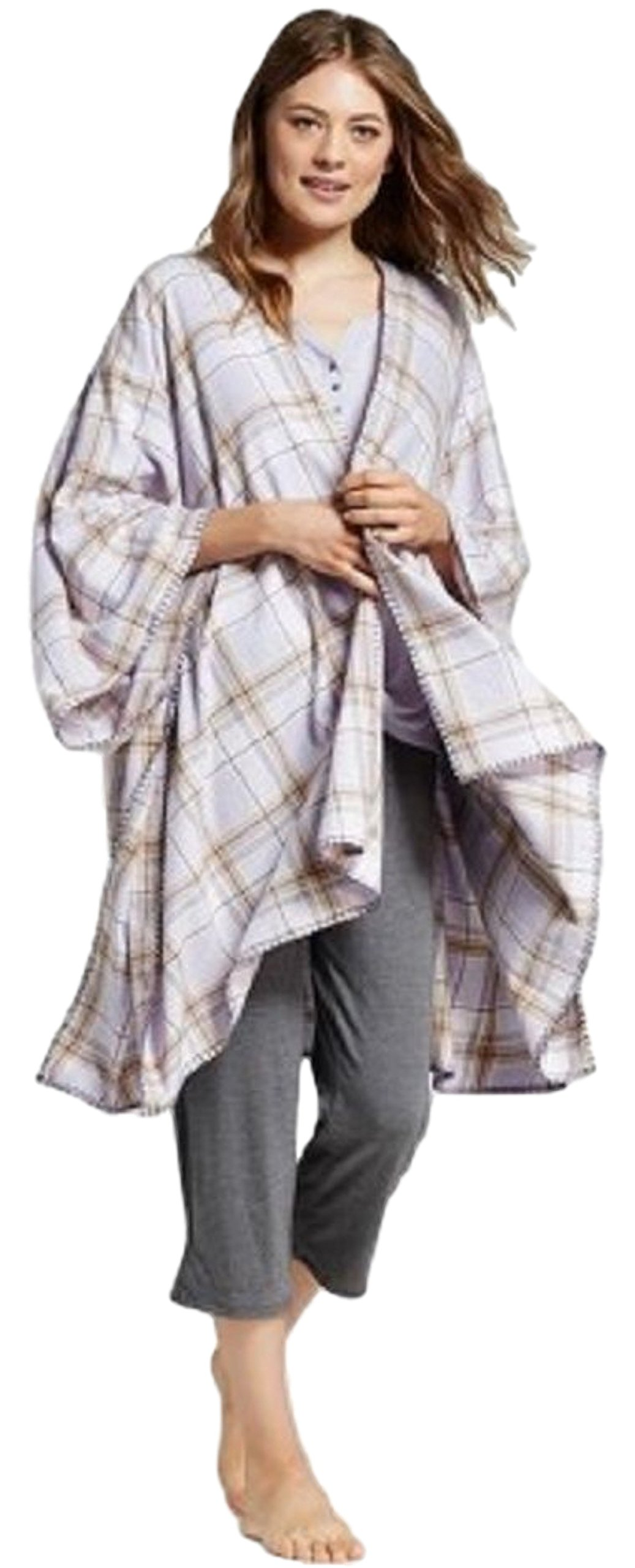 Gilligan and O'Malley Women's Flannel Wrap Pajama