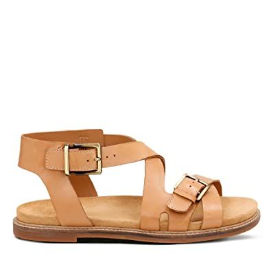 f04e65c6aa8f Clarks Corsio Bambi Leather Sandals in Light Tan Standard Fit Size ...