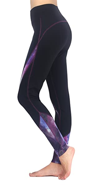 69ce94e111946 Neonysweets Women's Workout Leggings Active Tights Running Yoga Pants Black  S