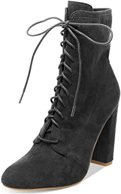 XYD All-Match Ankle Boots Faux Suede