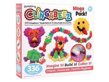Clingabeez Klettkugeln Spaß Klettbällchen Kreativspielzeug 26-336 Teile