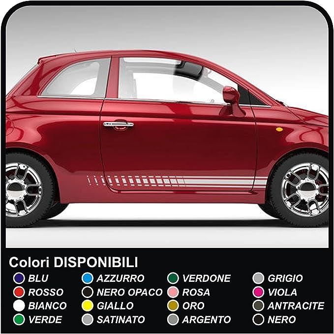 Grafic Streifen Aufkleber Dekor Seitenstreifen Aufkleber Streifen Dekorstreifen Auto Weiss Auto