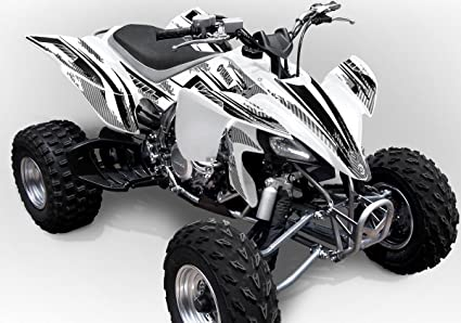 amazon com yamaha yfz 450 graphics racer x white background