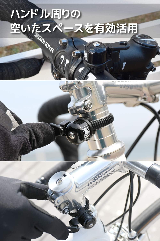 CAT EYE Bicycle Bell Brass Black CATEYE MADE IN JAPAN
