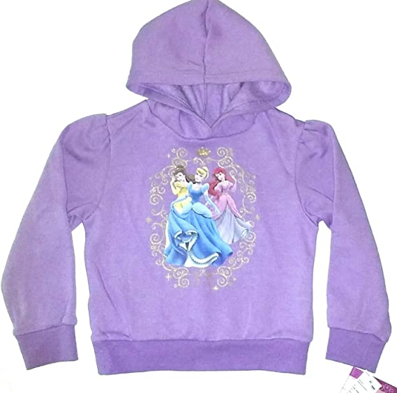 Princess Disney Glitter Sweatshirt /& Puffer Vest Set~ Girls 6