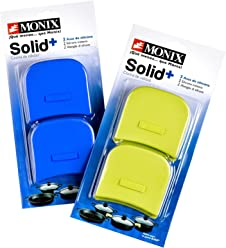 Monix Solid+ - Pistachio colour silicon handles suitable for the entire SOLID+ series