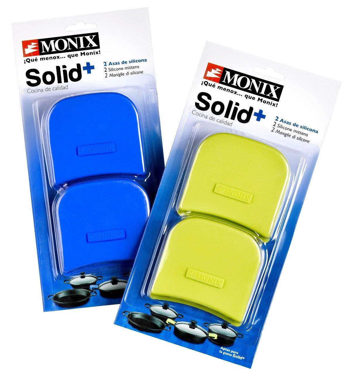 Monix Solid+ - Asas silicona, aptas para toda la serie Solid+, color azul: Amazon.es: Hogar