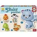 Educa Borrás 13473-5 Puzzles de animales baby