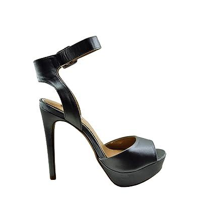5192f58a339e Qupid Avalon 187 Womens Peep Toe Ankle Strap Heel (6