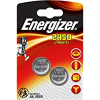 Energizer 2450 Lithium Coin Battery, 2-Pack