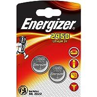 Piles bouton au lithium Energizer 2450, pack de2