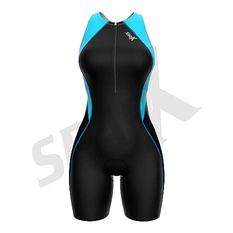 Amazon.com: Sparx Traje de triatlón para mujer con sujetador ...