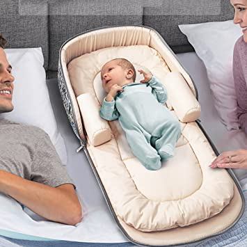 Amazon.: Aik@ Portable Foldable Baby Cribs Co Sleeping