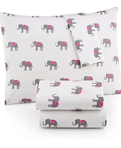 Amazon.com: Martha Stewart WHIM Collection 100% Cotton Sheet Set