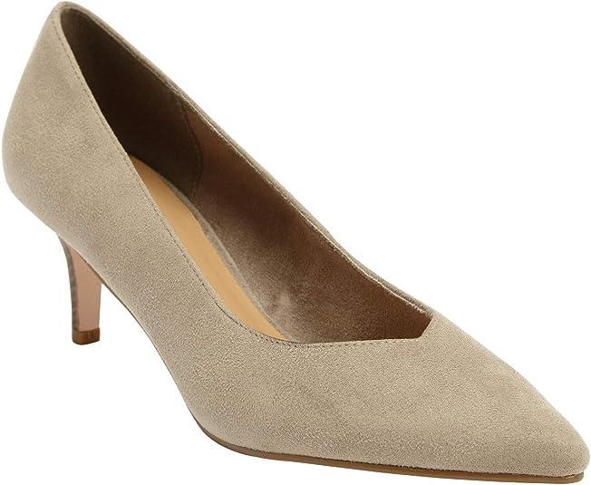 Kitten Heel Wide Width Shoes