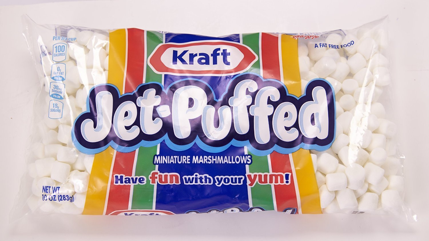 Jet-Puffed Miniature Marshmallows 10oz Bags - 6 Pack