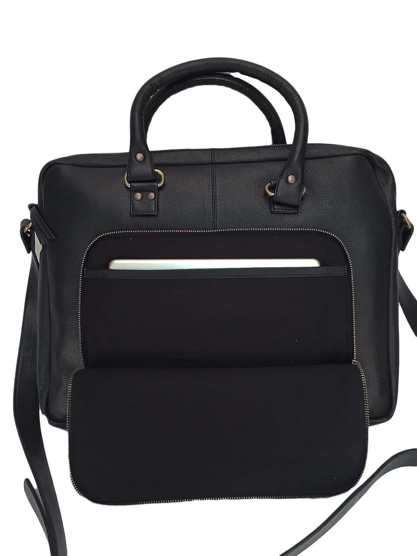 54e48ddedbfb2 Kuhfelltasche Laptoptasche Bürotasche Aktentasche  Amazon.de  Schuhe    Handtaschen