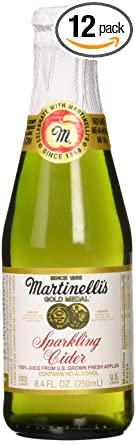 Amazon Com Martinelli S Sparkling Apple Cider 8 4 Fl Oz Pack Of 12 Video Game Cases Grocery Gourmet Food