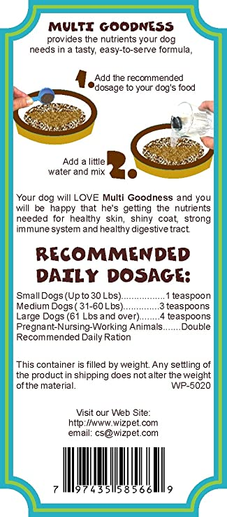 Amazon.com: Todos los Dog Food Supplement – fabricado en EE ...