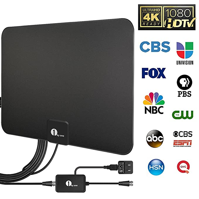 Review 1byone HDTV Antenna, HD