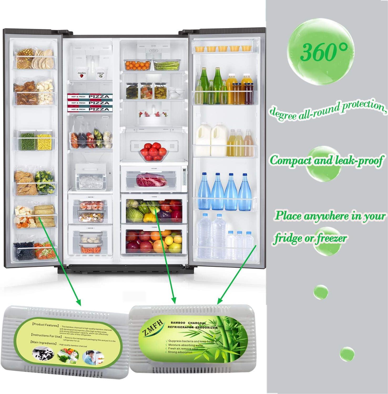 ZMFH - Desodorante para refrigerador, 6 unidades, bolsas ...