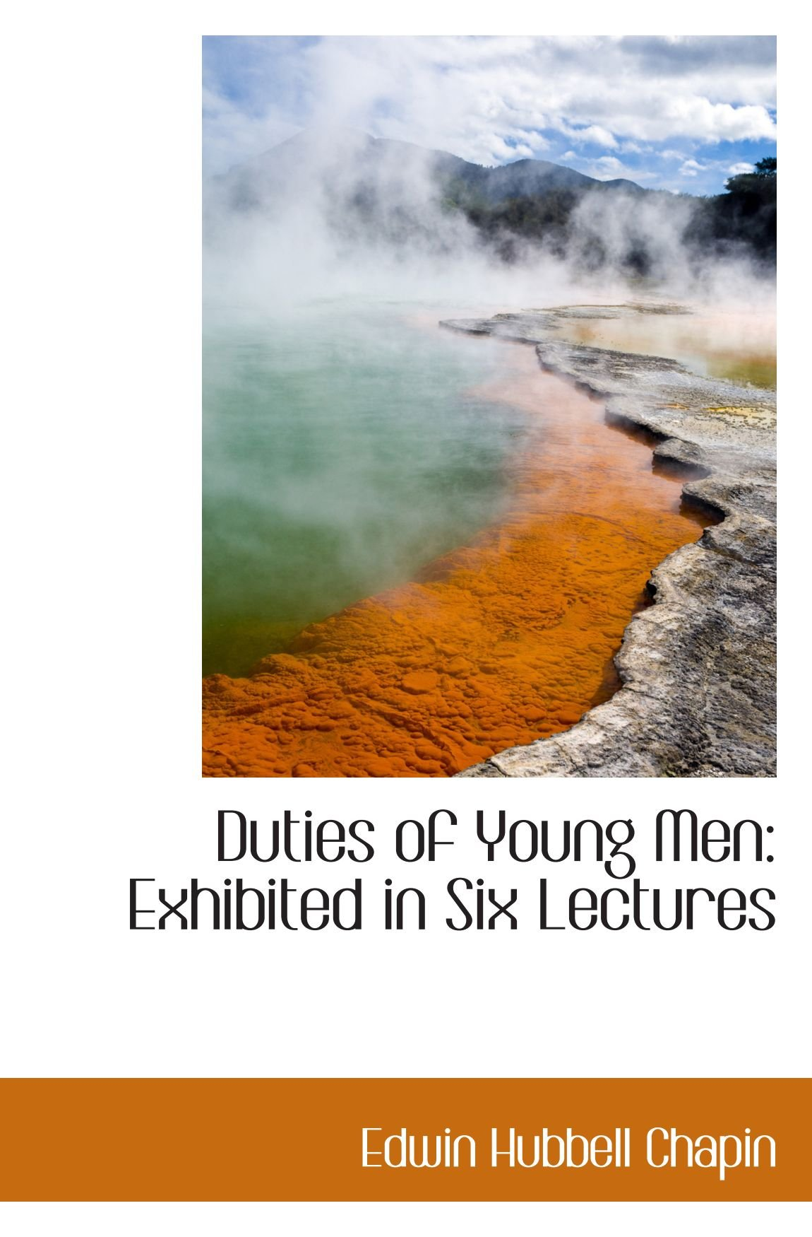 Duties of Young Men: Exhibited in Six Lectures pdf