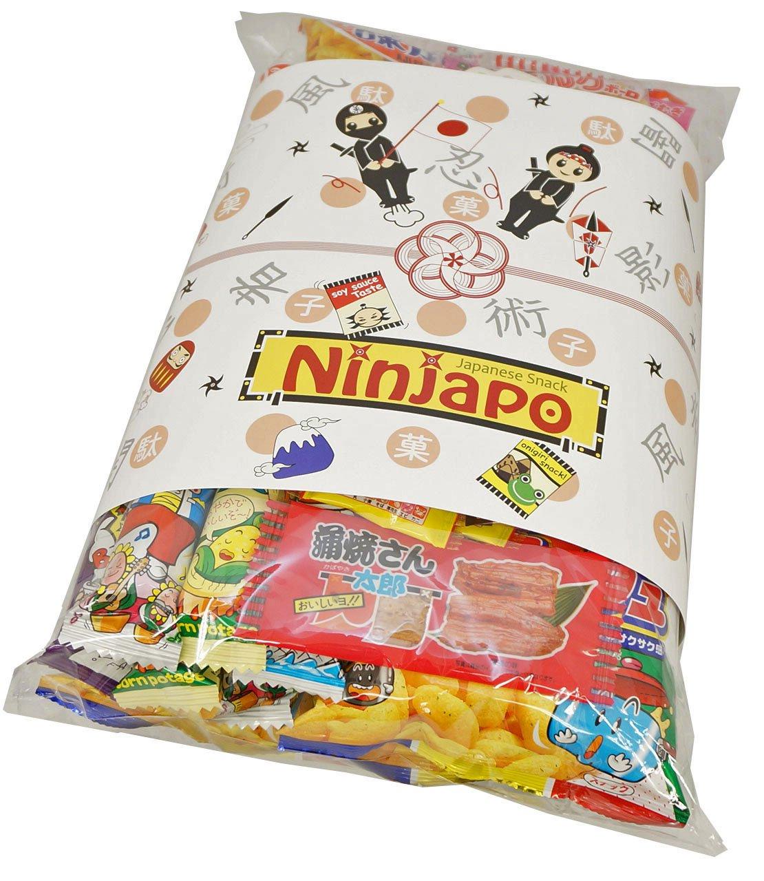 Assorted Japanese Junk Food Snacks