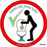 Immi Saubere Toilette Aufkleber Bundle Sitzen Pinkeln Klobürste