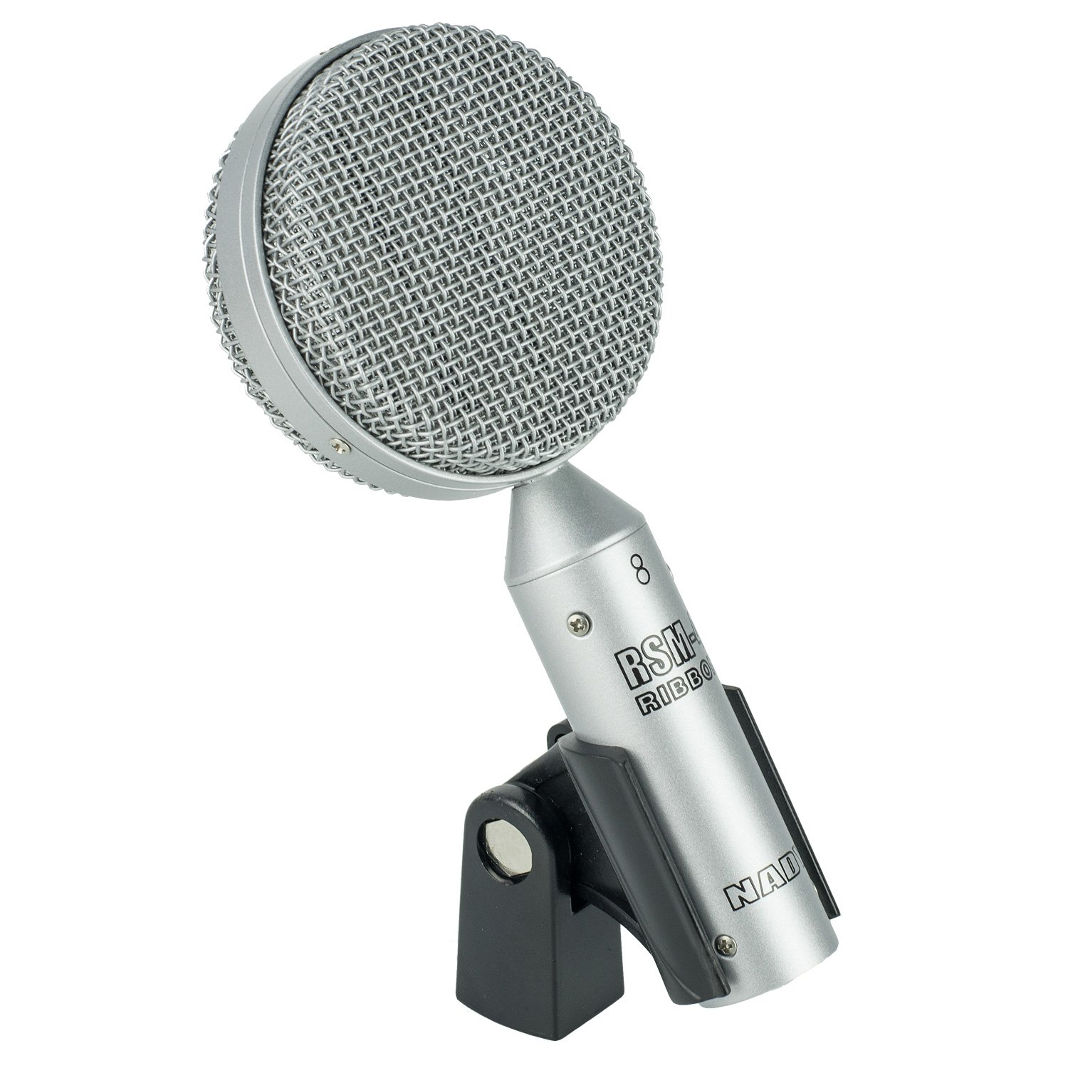 Nady RSM-4 Unique Style Ribbon Microphone for vocals, guitar cabinets, horns – Classic vintage sound Nady CA