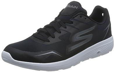 Skechers Men's GOtrain City Cross Training Shoe,Black/White,US ...