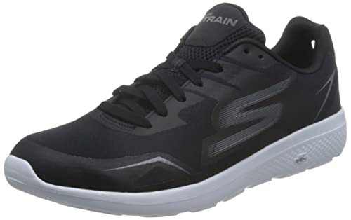 a0ba15a1228d Skechers Men s Go Train City-Adept Black White Multisport Training Shoes-10  UK