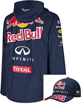 Red Bull Fórmula uno F1 Racing Mens Chaqueta y Gorra de Visera ...