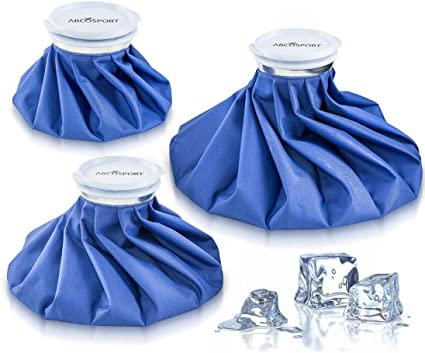Ice Bag Packs - Set of 3 Hot & Cold Reusable Ice Bags, Instant ...