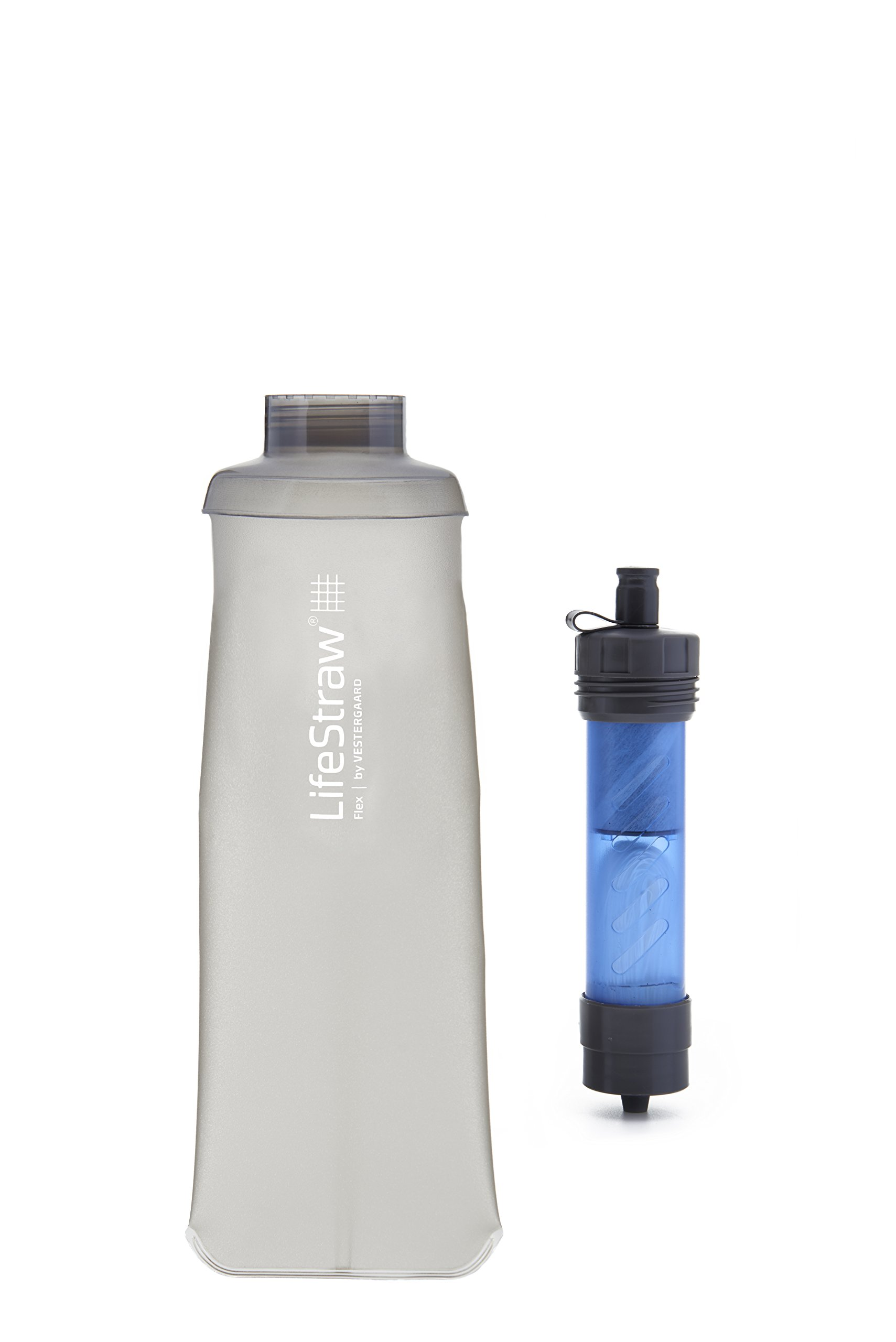 LifeStraw Flex Multi-Function Water Filter System with 2-Stage Carbon Filtration for Hiking, Camping and Emergency Preparedness by LifeStraw