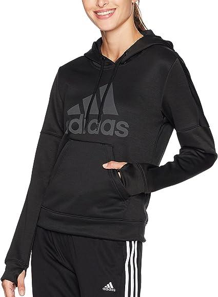adidas pour Femme Équipe problème Pull en Laine Polaire Logo