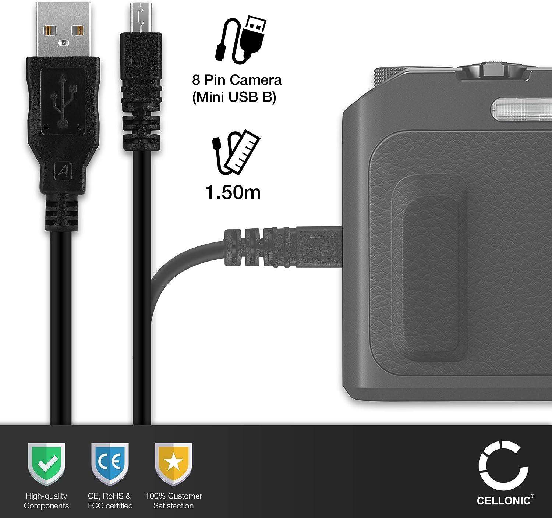 Cavo USB PER Nikon d5300 cavo dati datacable 1m