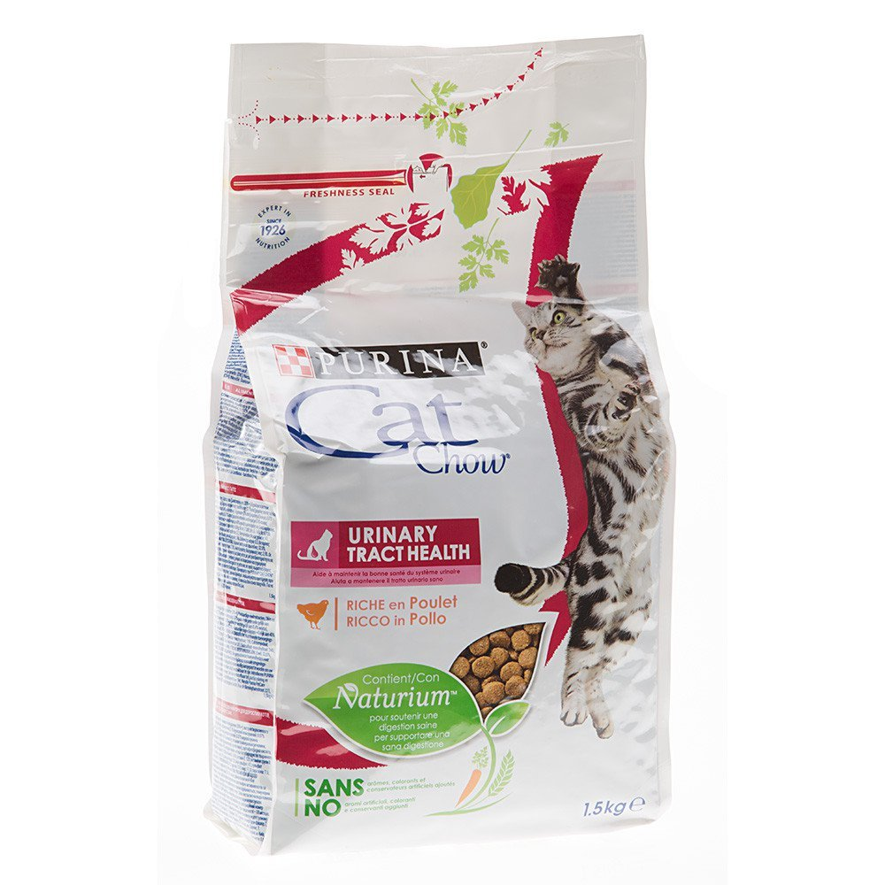 Purina - Cat Chow® - Adult Urinary Tract Health - Pienso para gatos, 1,5 kg: Amazon.es: Jardín