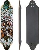 Landyachtz Top Speed Longboard Skateboard Deck with Grip Tape
