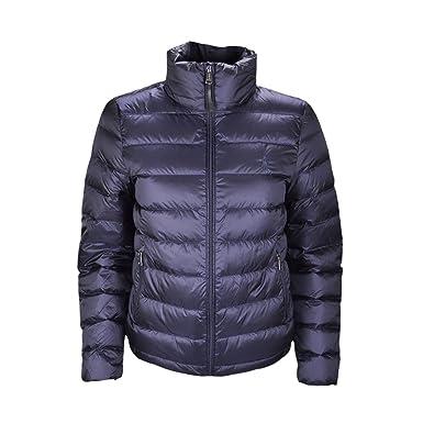 519cea92e507 Ralph Lauren Doudoune matelassée Bleu Marine pour Femme  Amazon.fr   Vêtements et accessoires