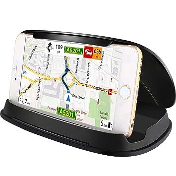 Soporte de coche para Samsung Galaxy S8, soporte universal de GPS para tablero de coche