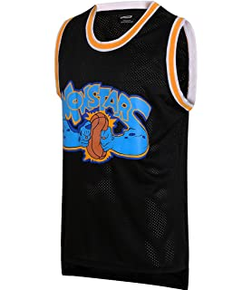 e5f08f68061a JOLI SPORT Monstars 0 Space Movie Jersey Men s Basketball Jersey S-XXXL  Black