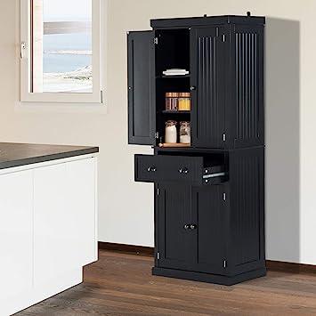 Amazon.com: Festnight Tall Kitchen Pantry Storage Cabinet ...