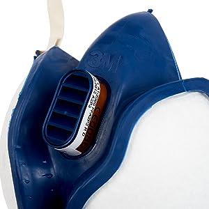 3M Maintenance Free Half Mask Respirator, FFA2P3R D Filters, 4255