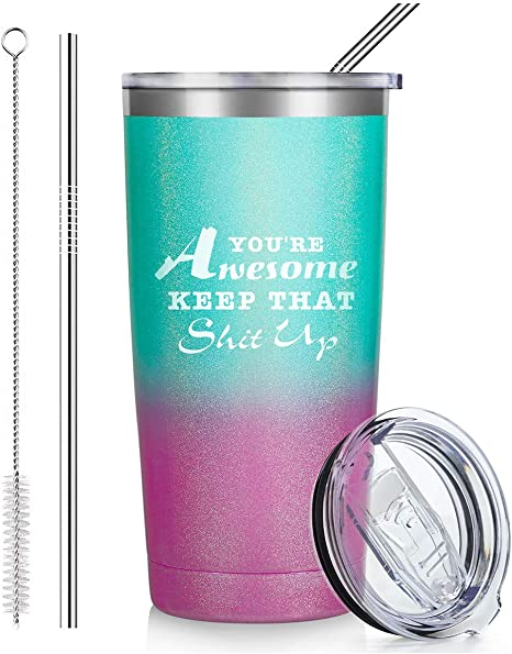 Gift for Mom 20oz Tumbler Stainless Steel Tumbler Glitter Cup Glitter Stainless Steel Tumbler Tired As A Mother Cup Mothers Day
