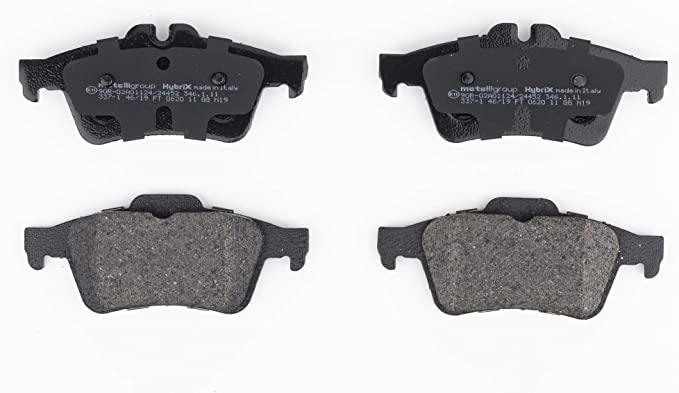 Metelligroup 22 0337 1 Bremsbeläge Made In Italy Ersatzteile Für Autos Ece R90 Zertifiziert Kupferfrei Auto