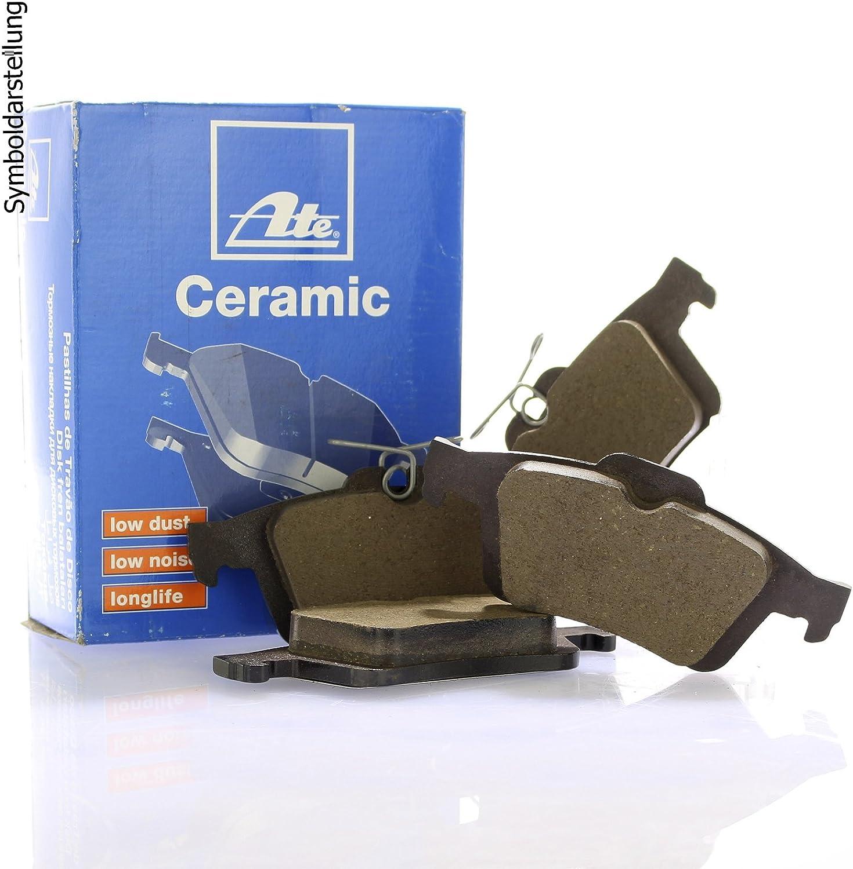 Bremsenreiniger Original ATE Bremsscheiben hinten ATE Bremsbel/äge Bremskl/ötze Bremsenset Bremsenkit Komplettset Hinterachse