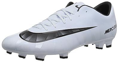 Nike Herren Mercurial Victory VI CR7 DF FG Fußballschuhe, Weiß (Teinte Bleue/Blanc/Teinte Bleue/Noir), 43 EU